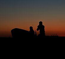 Battery Park Sunset by Lilfr38