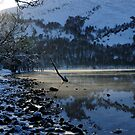 Spot of Light - Loch Rannoch by Derek McMorrine