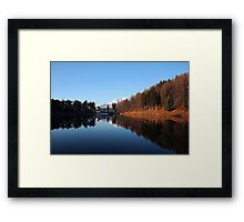 A day at the Meugliano Lake Framed Print
