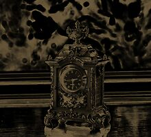 Timepiece In Sepia by Evita