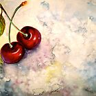 Cherries.. Pure Heaven by  Janis Zroback
