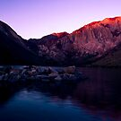 First Light, Convict Lake by Justin Mair