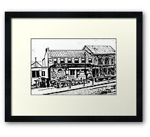Irish Pub, Ireland  Framed Print