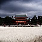 heian shrine by ivwilsoniv