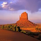 East Mitten Butte by Mike Norton