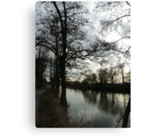 River Severn at Worcester Canvas Print