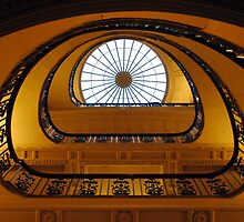 Staircase, Courtald Gallery, London by celticspring
