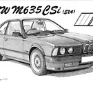 BMW M635CSi by Steve Pearcy
