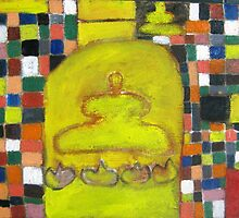 buddha color by artbaby