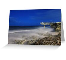 North Beach Jetty - Western Australia  Greeting Card