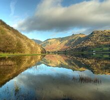 Brotherswater In December by Jamie  Green