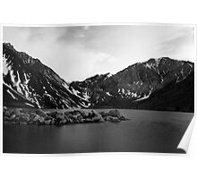 Dusk at Convict Lake in Mono Poster