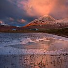 The Red Hills in Winter Light. Isle of Skye, Scotland. by photosecosse /barbara jones