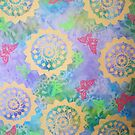 Pink Butterflies and Mandalas by GypsyJ
