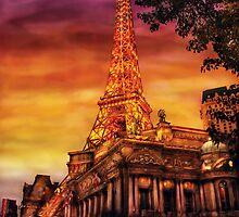 Vegas - Paris - The Paris Hotel by Mike  Savad