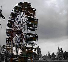 Fair Rust Wheel by Alice Spyglass