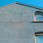 Blue Gable, East Belfast by esquiresque
