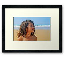 sunkissed Framed Print