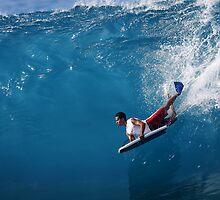 Brudda Bradley Air Dropping by Vince Gaeta