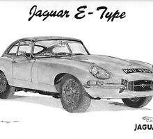 Jaguar E-Type by Steve Pearcy