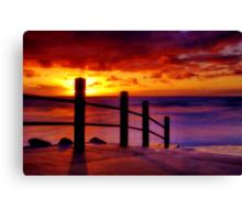 """Anglesea Morningtide"" Canvas Print"