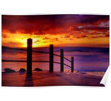 """Anglesea Morningtide"" Poster"