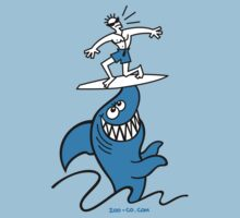 Shark Powered Surfing by Zoo-co