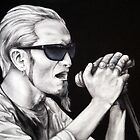 Layne Staley of Alice in Chains by whiterabbitart