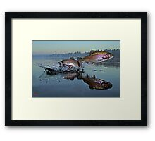 Dance of the Trout Framed Print