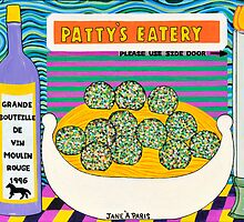 PATTY'S EATERY by JaneAParis