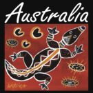 Tribal Crocodile Australia by Kayleigh Walmsley