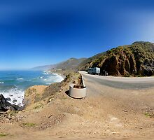 camino de real coastal road and cliffs by itsrich