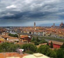 florence in hdr from piazza michalangelo by itsrich