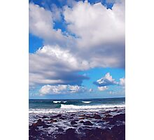 OCEAN THOUGHTS Photographic Print