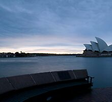 Opera House Sunrise, Sydney Harbour, NSW by Darren Greenwell