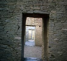 Serial rooms, Pueblo Bonito by nealbarnett
