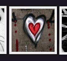 (he)Art.....(street graffitti, Toronto, Ontario, Canada) by Russ Styles