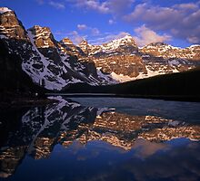 Moraine Lake by Mike Norton
