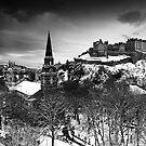 Edinburgh In Ermine by Stuart Robertson Reynolds