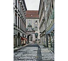 Munich Back Streets Photographic Print