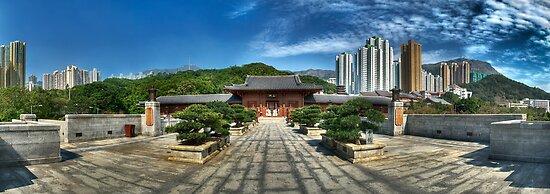 Chi Lin Nunnery by HKart