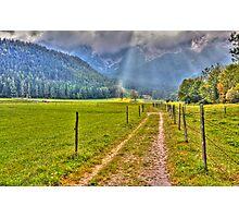 Towards the ranges Photographic Print