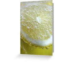 Lemon Splash Greeting Card
