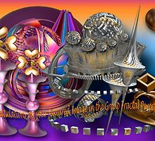 """Featured"" Banner Group Fractal Perception by CanDuCreations"