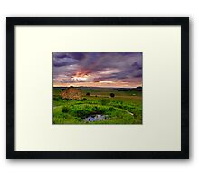 """Breaking Through The Storm"" Framed Print"