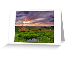 """""""Breaking Through The Storm"""" Greeting Card"""