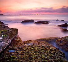 Sunset at Bare Island by Jennifer Bailey