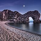 Moonlight Over Durdle Door by Jonathan Stacey