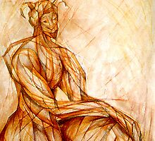The Fawn (Capricorn) by Leni Kae