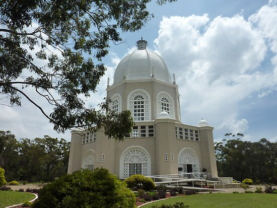 Baha'i Temple at Ingleside in Sydney by Doug Cliff